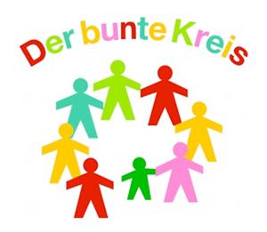 Der bunte Kreis-Logo